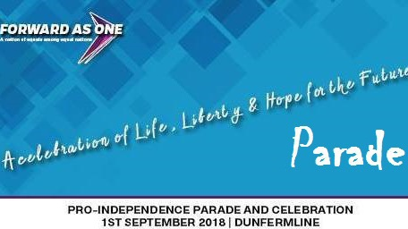Pro-independence PARADE, Dunfermline, Forward As One