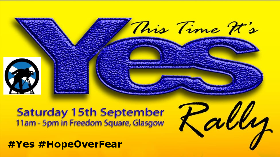 Hope Over Fear -This Time It's YES Rally
