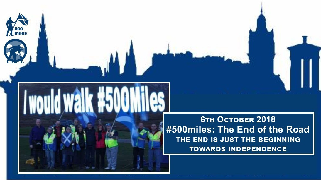 #500miles Walkers, Edinburgh, Cam6