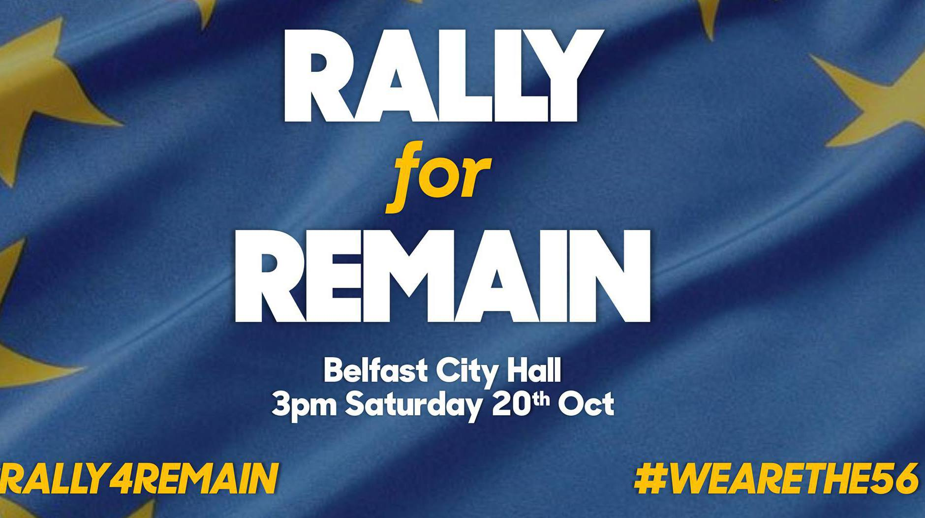 Belfast Rally for Remain #Rally4Remain