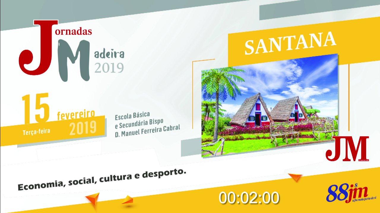 Parte 1 - Jornadas da Madeira 2019 - Santana  TV HD (2019)