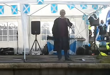 New United 45 plus Rally in Edinburgh
