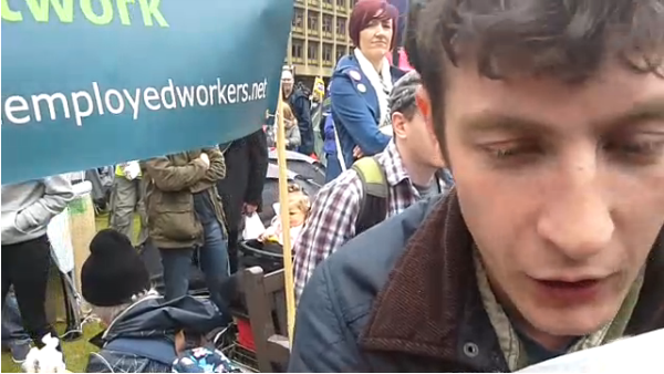 Scotland United Against Austerity: 2nd camera