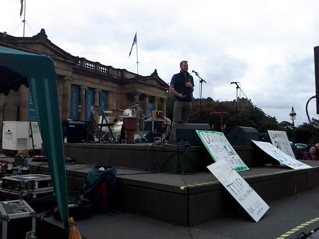 People's climate rally, Edinburgh
