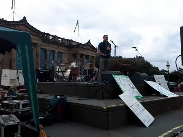 People's climate rally, Edinburgh