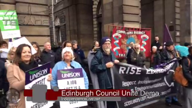 Unite - Edinburgh Council Jobs Crisis