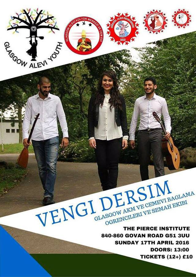 Vengi Dersim Concert - Glasgow Alevi Youth.