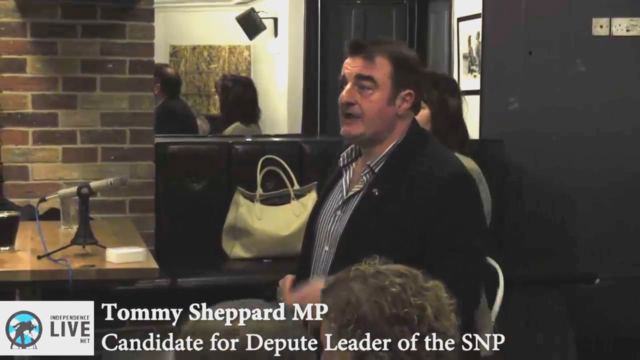 Tommy Sheppard for Depute Leader - Members' Event