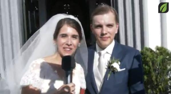Mensagem dos noivos - Casamento / Wedding: Flo Vlaanderen and Joana Ribeiro TV SD (2016)