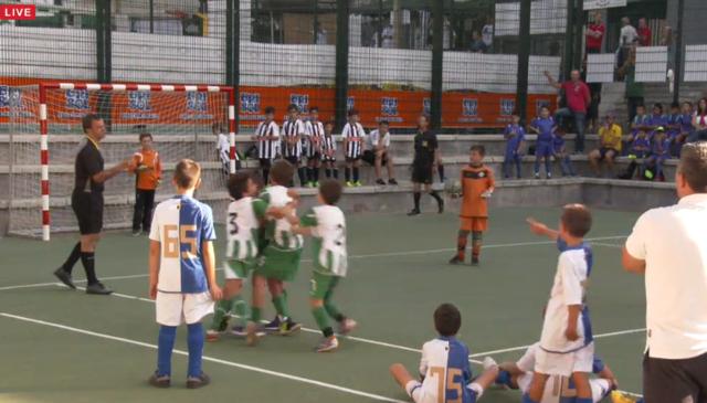 CAMPO 2 - 2 Parte - Domingo Manh� - Fase final  SUB 10 - Criamar Street Football Challenge
