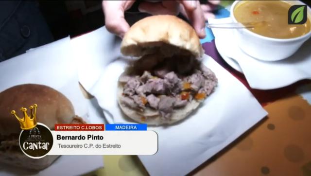 Encerramento na Barraca e a falar com a Presidente e Tesoureiro da CP do Estreito no CANTAR AS JANEIRAS - TV HD (2017)