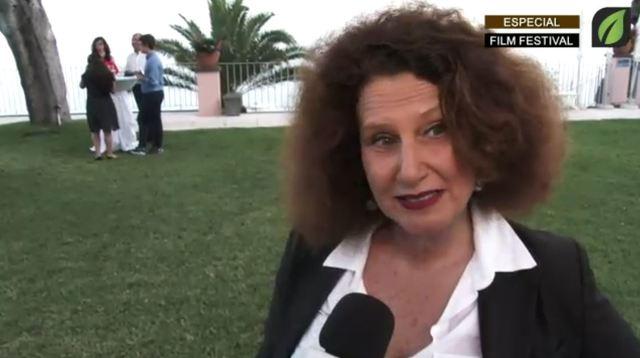 Manuela Morgane no COCKTAIL DE ABERTURA OFICIAL no Reid`s Palace Hotel - Madeira Film Festival TV HD (2017)