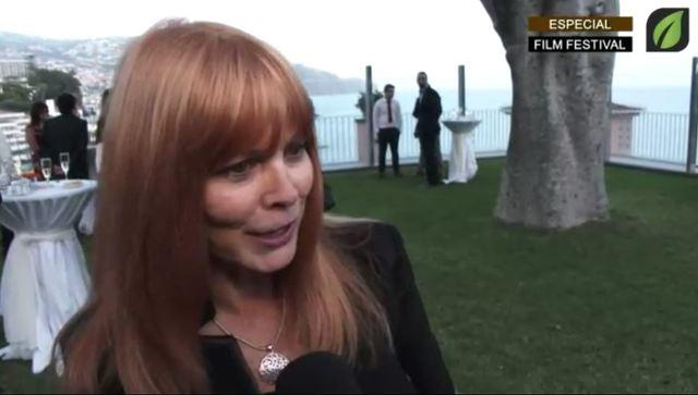 Cheryl Dubois escritora no COCKTAIL DE ABERTURA OFICIAL no Reid`s Palace Hotel - Madeira Film Festival TV HD (2017)