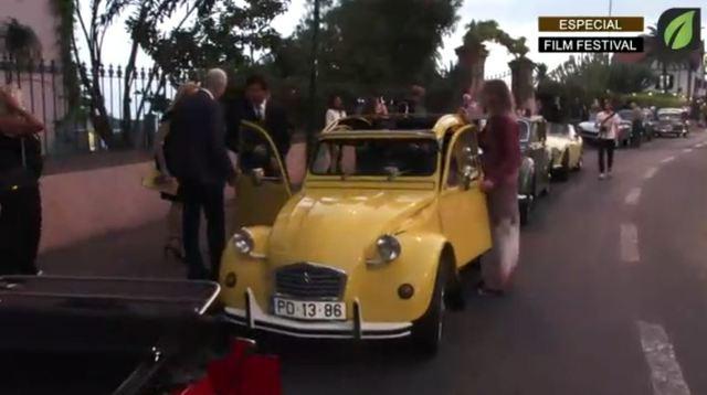 Saída para o Teatro nos  Carros Clássicos NA ABERTURA OFICIAL - Madeira Film Festival TV HD (2017)