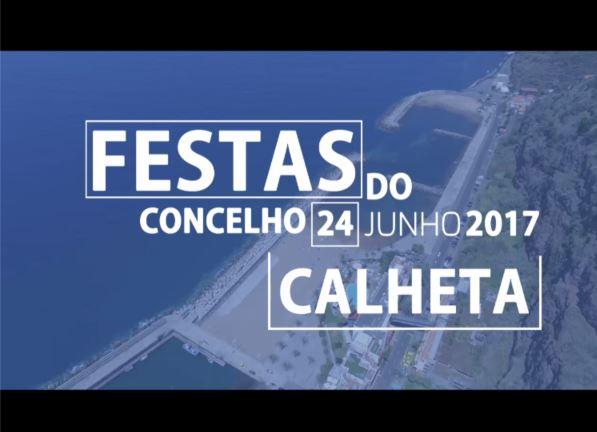TEASER - FESTAS DO CONCELHO DA CALHETA - FULLHD - JUNHO(2017)