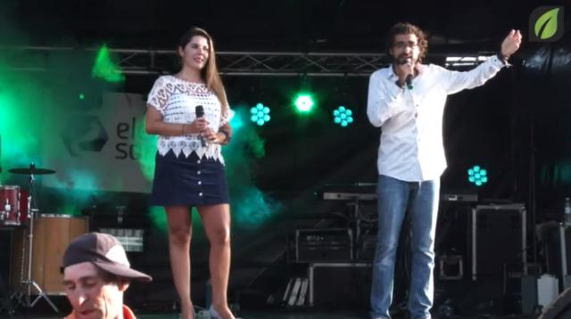 Sandra e Ricardo em atuação e entrevista na Festa do Senhor Santíssimo Sacramento TV HD (2017)