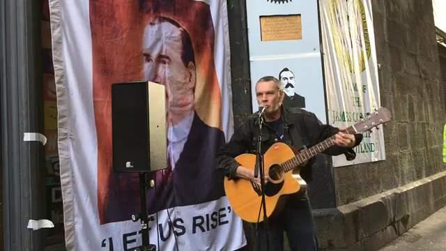 #Connolly150 James Connolly commemoration in Edinburgh