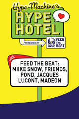 Hype Machine and Feed the Beat Presents