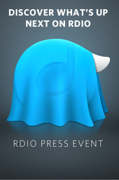 Rdio Press Event