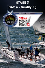 Day 4 STENA MATCH CUP SWEDEN, Stage 3 ALPARI WORLD MATCH RACING TOUR
