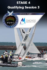 Qualifying Session 3 CHICAGO MATCH CUP, Stage 4 ALPARI World Match Racing Tour