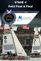 Petit Final & Final CHICAGO MATCH CUP, Stage 4 ALPARI World Match Racing Tour
