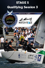 Qualifying Session 3, St Moritz Match Race, Stage 5 ALPARI World Match Racing Tour