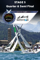 Quarter Final & Semi Final ST MORITZ MATCH RACE, Stage 5 ALPARI World Match Racing Tour