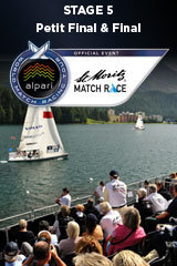 Petit Final & Final, St Moritz Match Race, Stage 5 ALPARI World Match Racing Tour