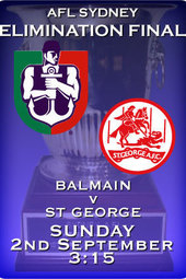 Elimination Final - Balmain v St George