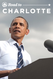 "President Obama's ""Road to Charlotte"" Tour"