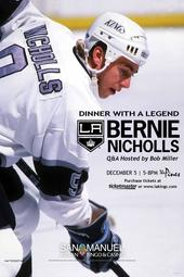 Dinner with a Legend: Bernie Nicholls