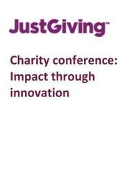 JustGiving Charity Conference