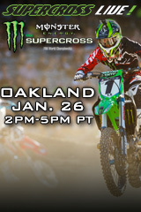 Oakland - Jan. 26, 2013 - Supercross LIVE!
