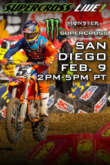 San Diego - Feb. 9, 2013 - Supercross LIVE!