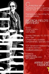 PATRICIA FIELD BIRTHDAY PARTY ! FEBRUARY 10TH