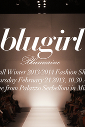 Blugirl Live Fashion Show Fall Winter 2013/2014