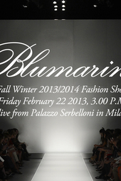 Blumarine Live Fashion Show Fall Winter 2013/2014