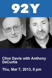 Clive Davis with Anthony DeCurtis