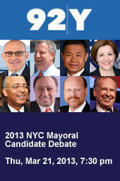 2013 NYC Mayoral Candidate Debate