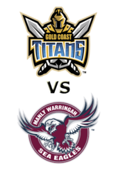 Titans vs. Sea Eagles