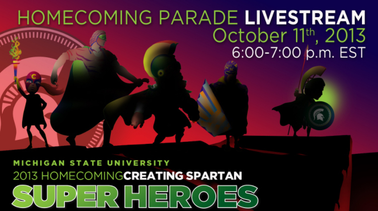 livestream cover image for Homecoming Parade 2013