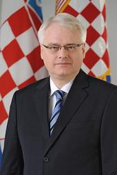 Ivo Josipović, President of the Republic of Croatia