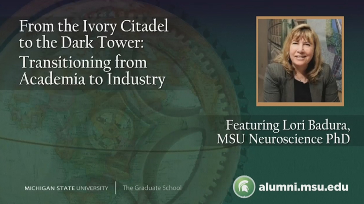 Livestream cover image for Transitioning from Academia to Industry
