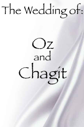 Oz and Chagit's Wedding