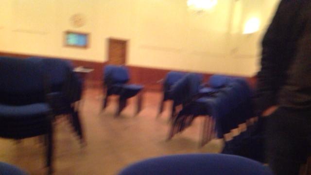 Cumbernauld, after event...