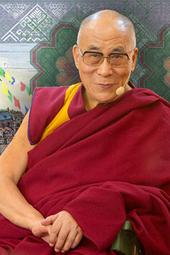Далай-лама в Риге 2014