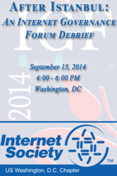 After Istanbul: An Internet Governance Forum 2014 Debrief