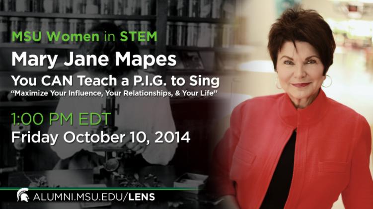 Livestream cover image for MSU Women in STEM