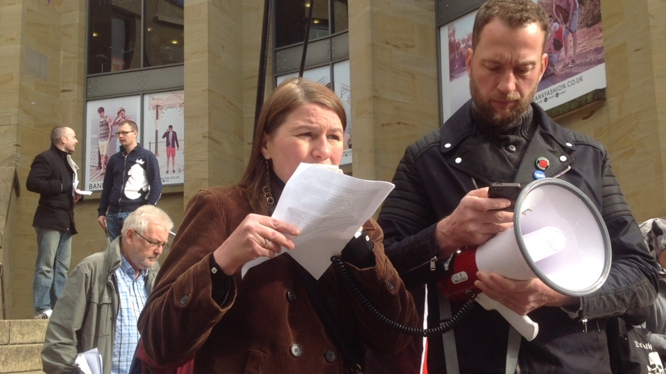 Stop the War Demonstration, Glasgow